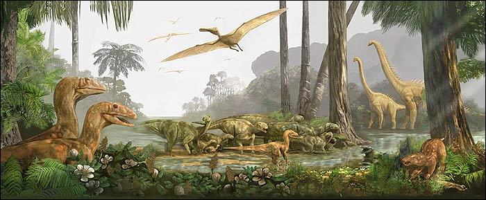 Jurassic period plants and animals - photo#34
