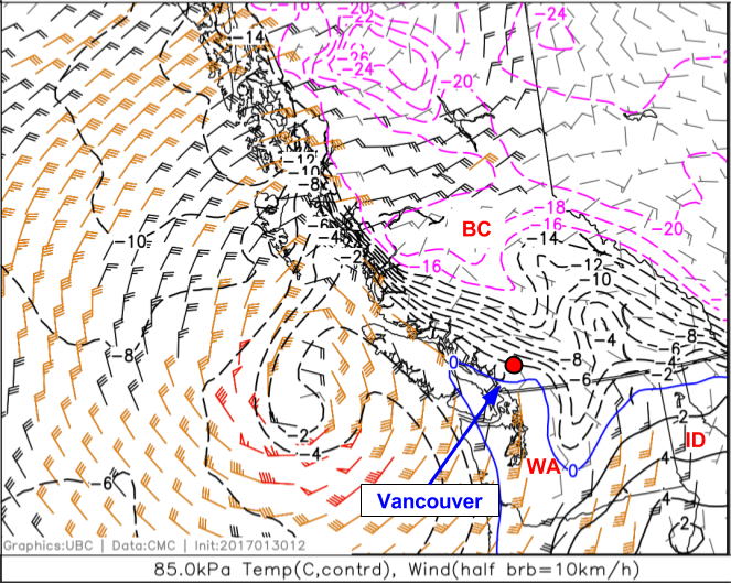 Bc Washington Map.5a Interpreting Temperatures From Pressure Level Maps
