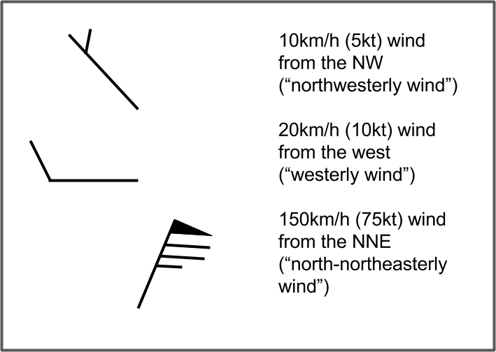 5b - Interpreting winds from weather maps