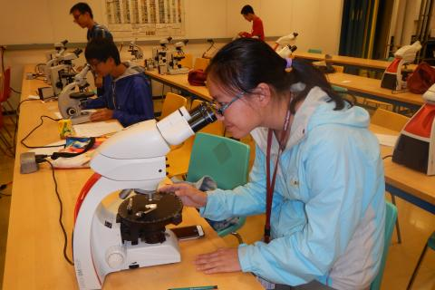 Microscope laboratory