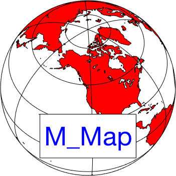 M_Map: A Mapping package for Matlab